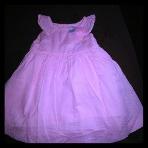 Pink size 6 to 12 months dress